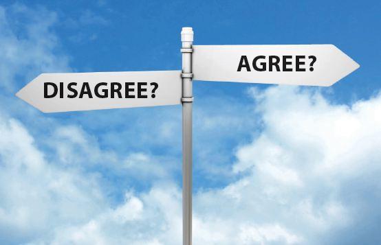 agree-disagree-road-signs