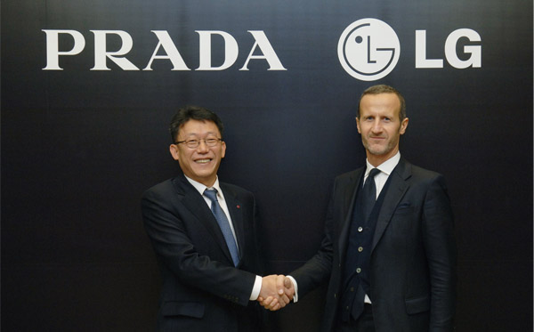 """Having successfully launched two PRADA phones by LG, we look forward to collaborating further to develop premium handsets with a strong identity and the most sophisticated style."" Source: http://www.brandingmagazine.com/2011/11/24/brands-are-more-successful-together-prada-lg/"
