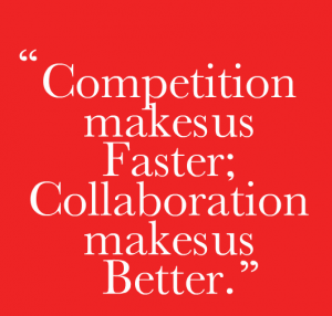 'Smart companies are moving from competition to collaboration, from 'me' to 'we'. They are involving everyone across their business to be meaningfully connected in some way to the customers.' - Sue Barrett Source: http://www.barrett.com.au/blogs/SalesBlog/2014/3097/sales-attitudes/sales-trend-8-a-radical-shift-in-the-sales-mindset/