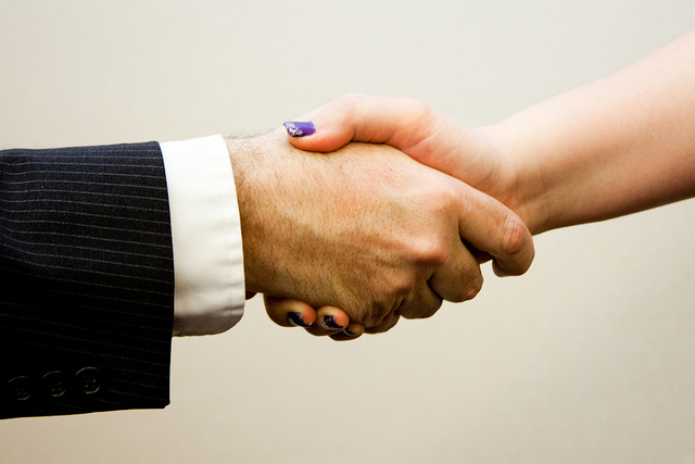 True rainmakers don't need to be convinced to collaborate.