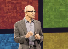 CEO Nadella talks Microsoft's mobile ambitions, Windows 10 strategy, HoloLens and more