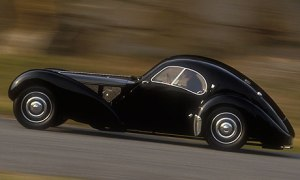 Bugatti Atlantic...world's most expensive car. The brand is owned by VW.
