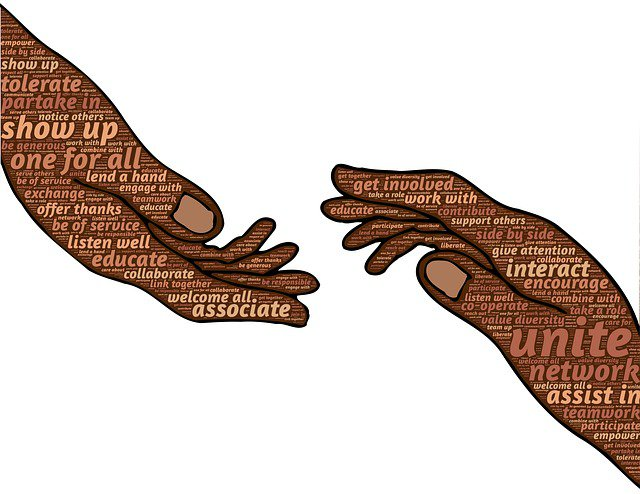 collaboration hands
