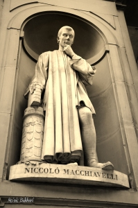 """Of mankind we may say in general they are fickle, hypocritical, and greedy of gain.""  ― Niccolò Machiavelli, The Prince"